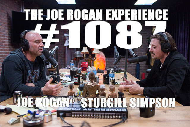 The Joe Rogan Experience #1087 - Sturgill Simpson