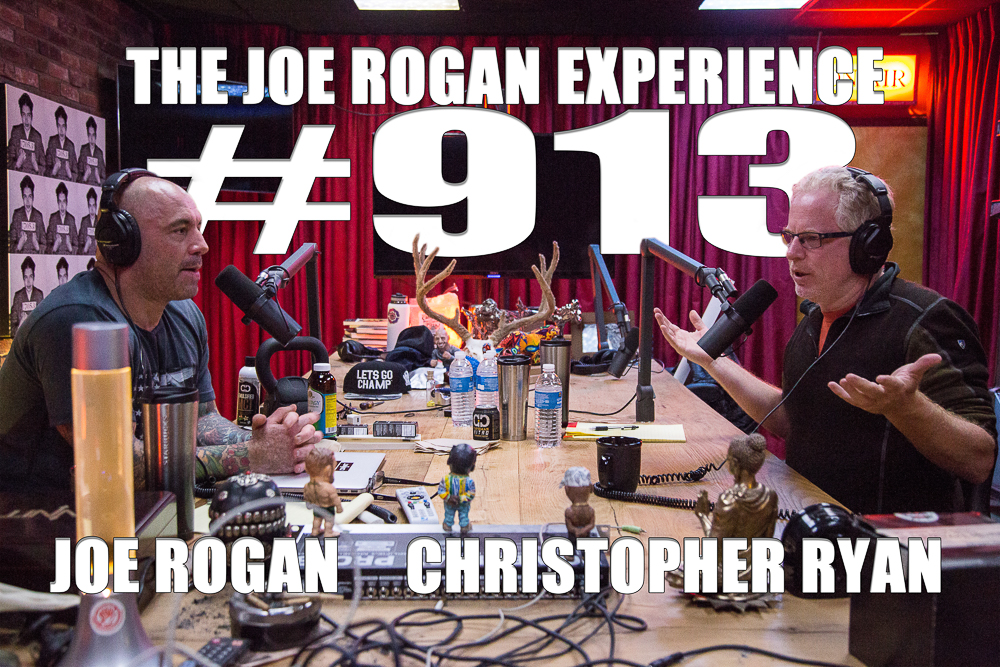 The Joe Rogan Experience #913 - Christopher Ryan