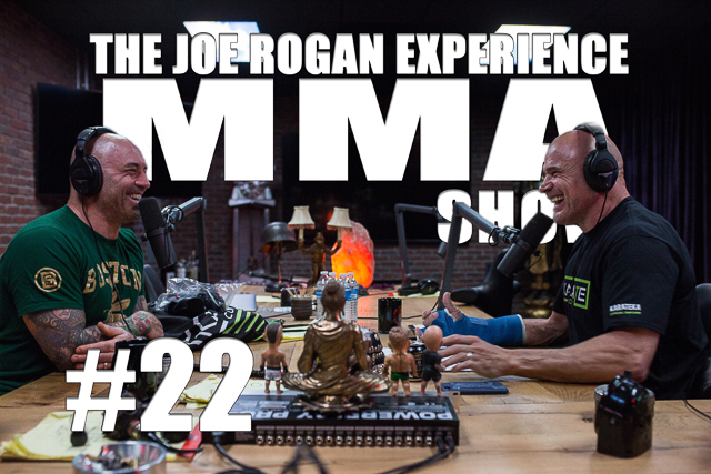The Joe Rogan Experience JRE MMA Show #22 with Bas Rutten