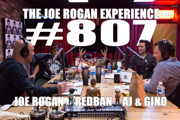The Joe Rogan Experience #807 - Gino & AJ, from Speedweed