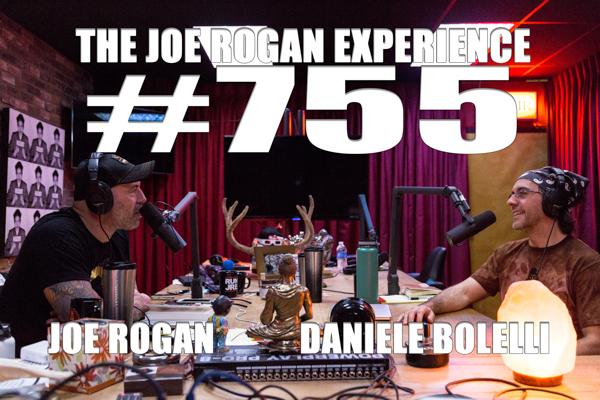 The Joe Rogan Experience #755 - Daniele Bolelli