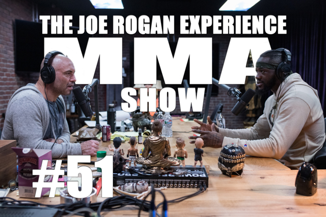 The Joe Rogan Experience JRE MMA Show #51 with Deontay WIlder
