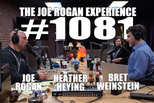 The Joe Rogan Experience #1081 - Bret Weinstein & Heather Heying