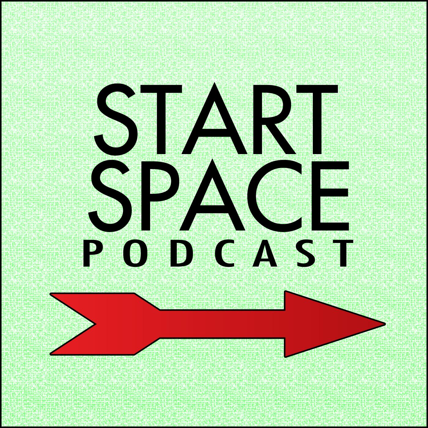 Start Space Podcast logo
