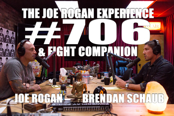 The Joe Rogan Experience #706 - Brendan Schaub & Fight Companion ? (Part 1)