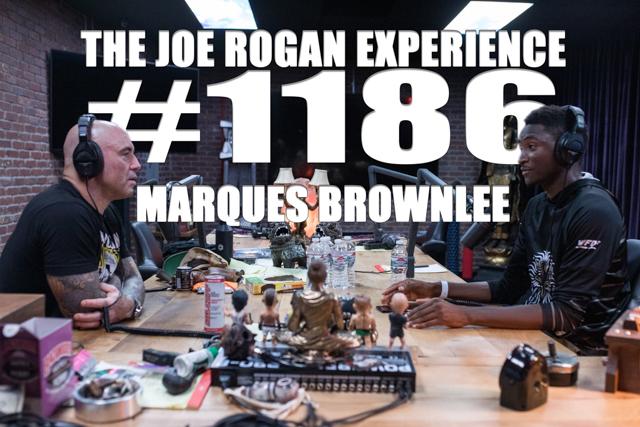 The Joe Rogan Experience #1186 - Marques Brownlee