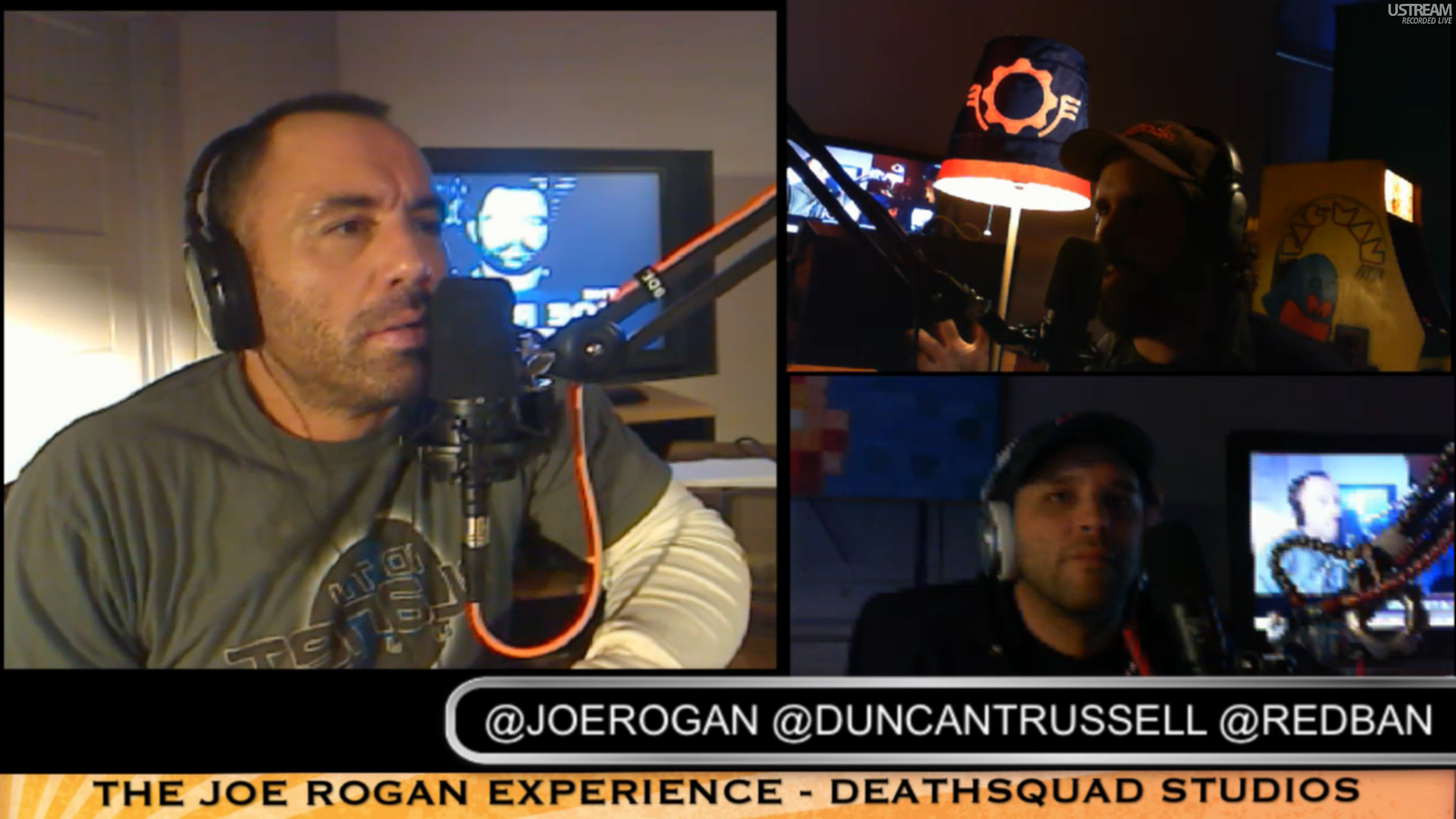 The Joe Rogan Experience PODCAST #156 - Duncan Trussell, Brian Redban