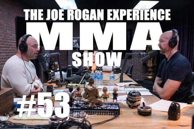 The Joe Rogan Experience JRE MMA Show #53 with Jeff Novitzky