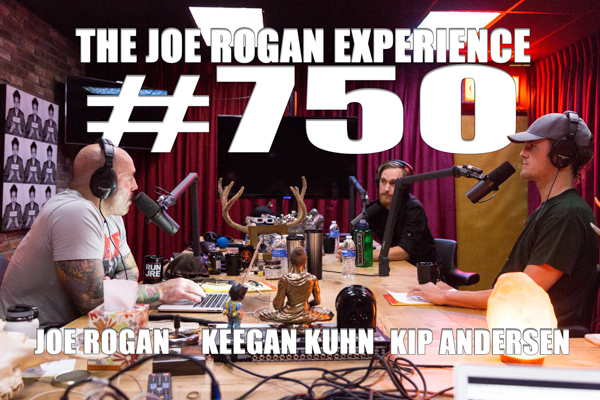 The Joe Rogan Experience #750 - Kip Andersen & Keegan Kuhn, producers of Cowspiracy