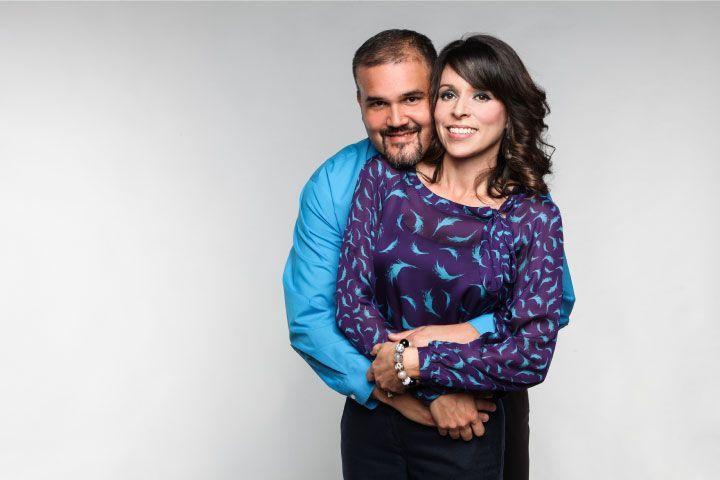 Rob and Jill Sparrow